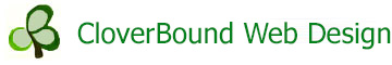 CloverBound Web Design logo